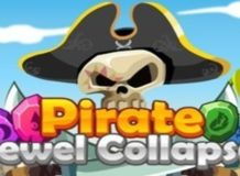 Free Online Games Pirate Jewel Collapse Game